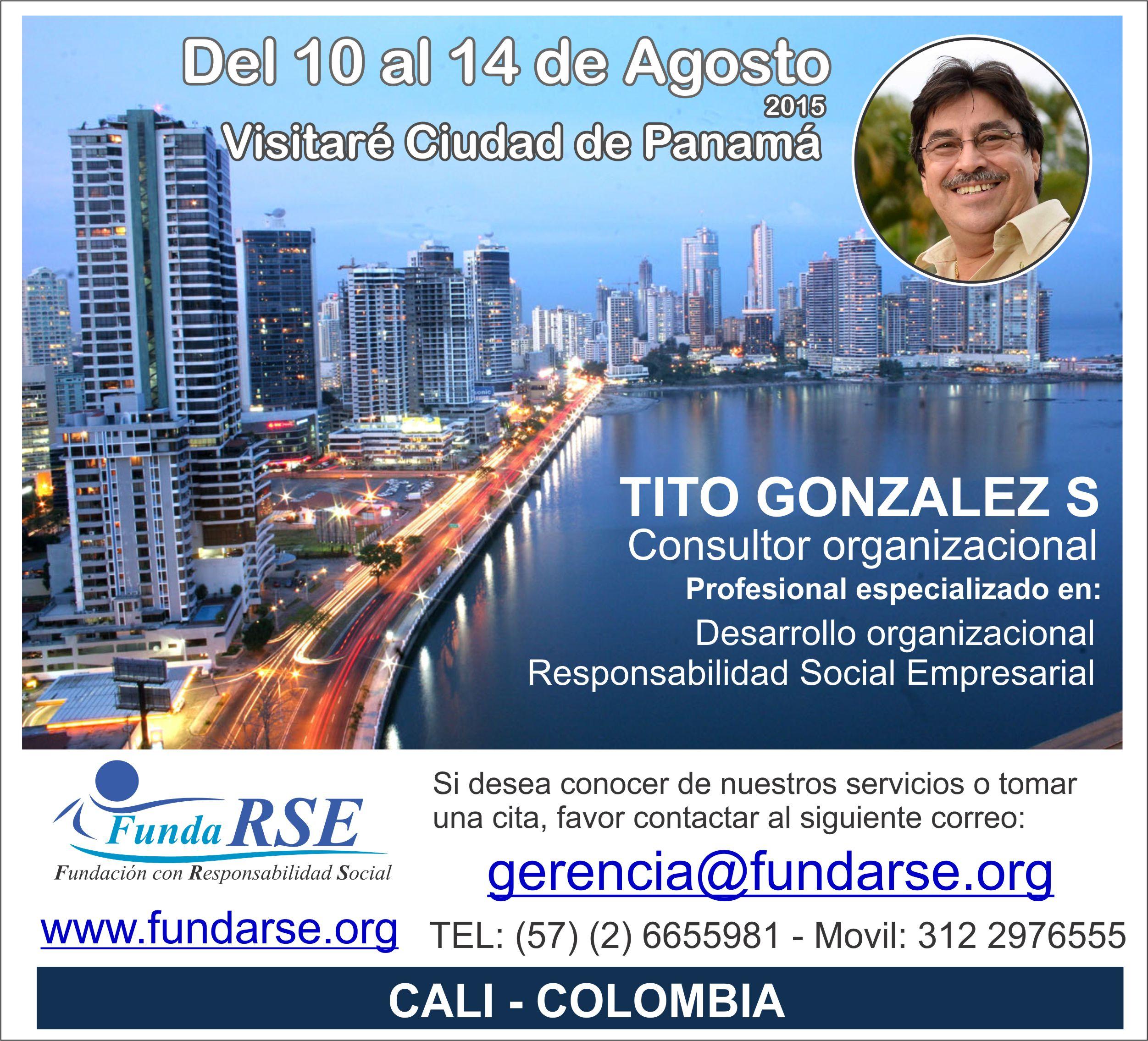AVISO PANAMA TITO GONZALEZ